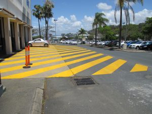 Grant Painters also offer line marking