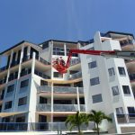 Spider-lift-at-mackay-apartment-repaint