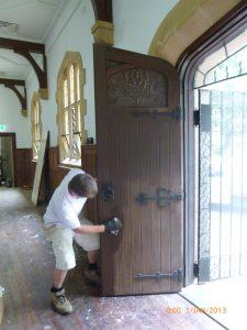 Restoration of heritage timber door