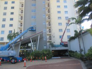 Multi storey commercial project in North Queensland