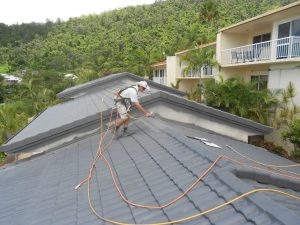 Specialised coating system for roof repairs